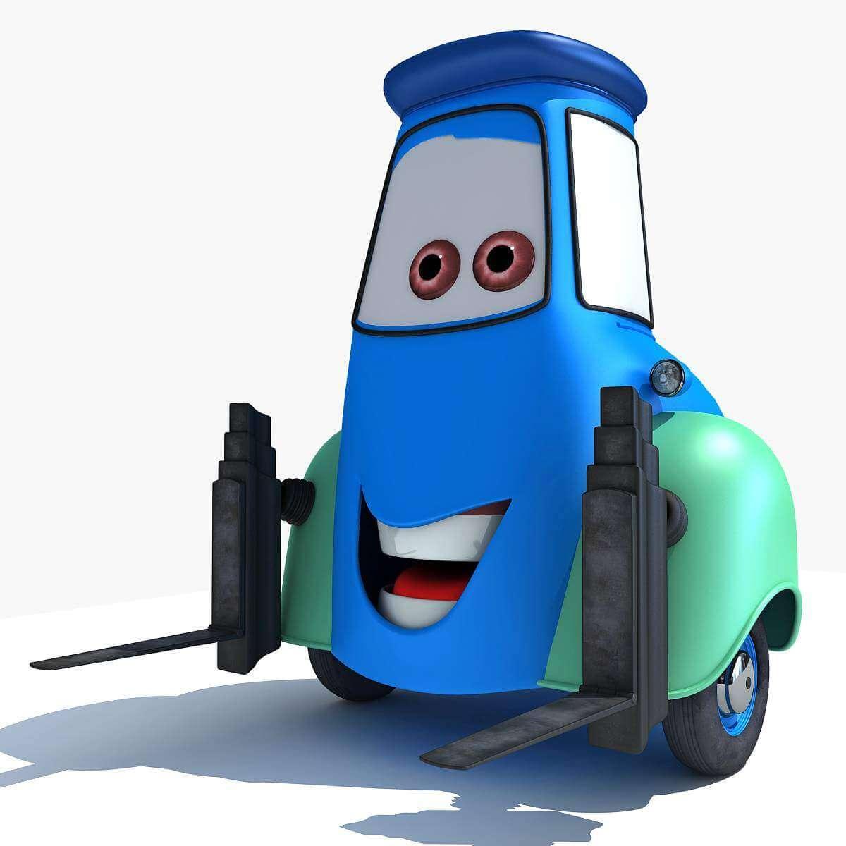 Disney Pixar Cars 2 Characters 3d Model