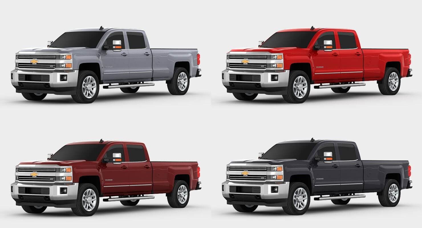 2017 chevrolet silverado 3500hd 3d model. Black Bedroom Furniture Sets. Home Design Ideas