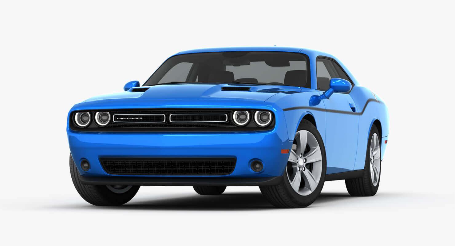 2015 Dodge Challenger SXT 3D Model