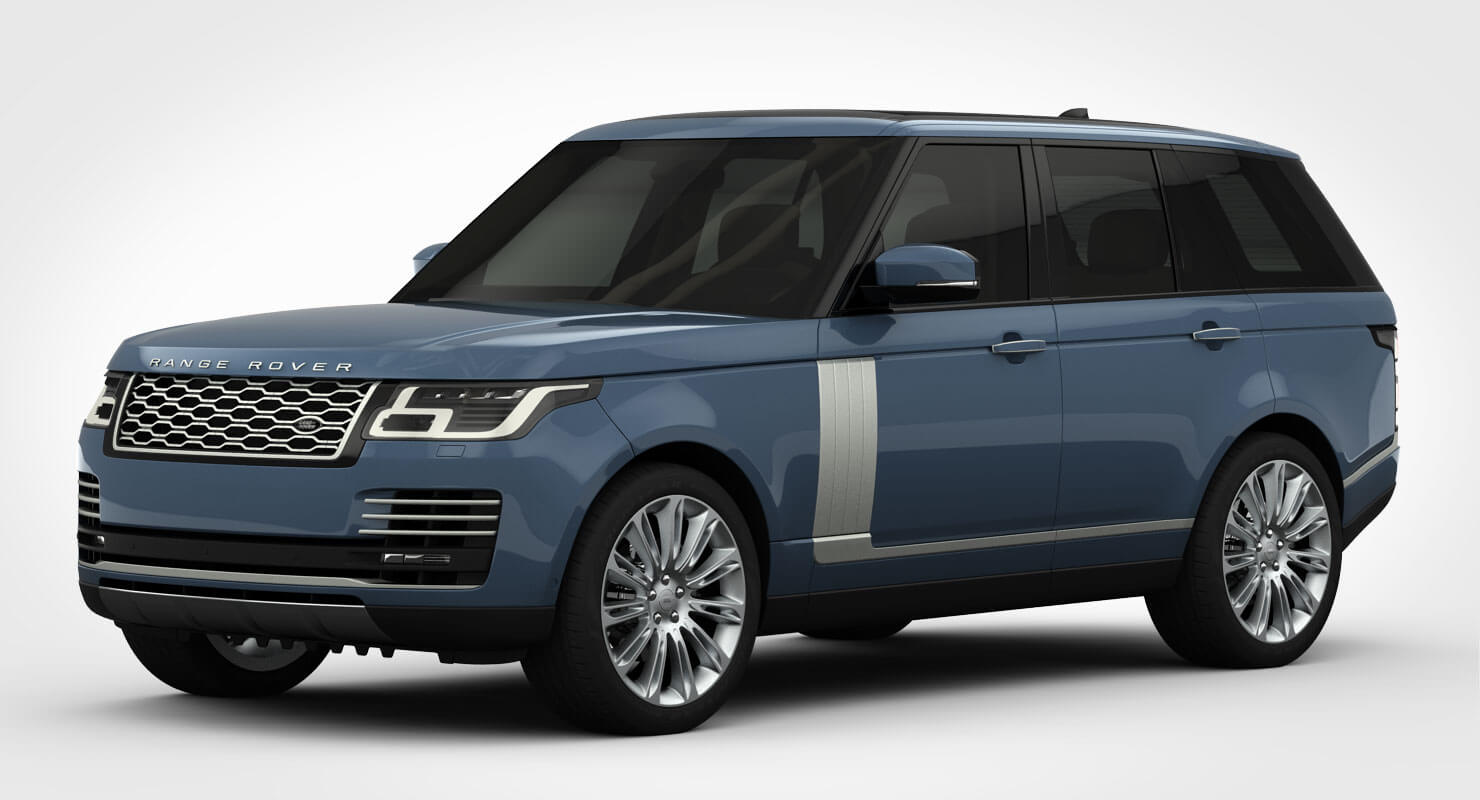 2018 range rover autobiography 3d model. Black Bedroom Furniture Sets. Home Design Ideas