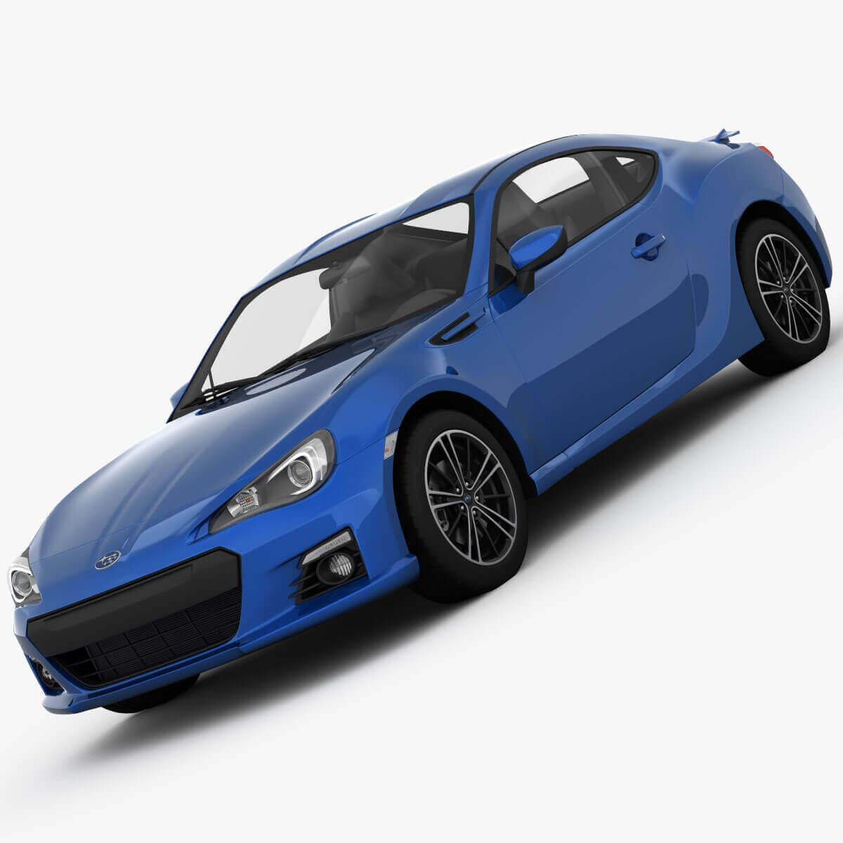 2013 Subaru BRZ 3D Model