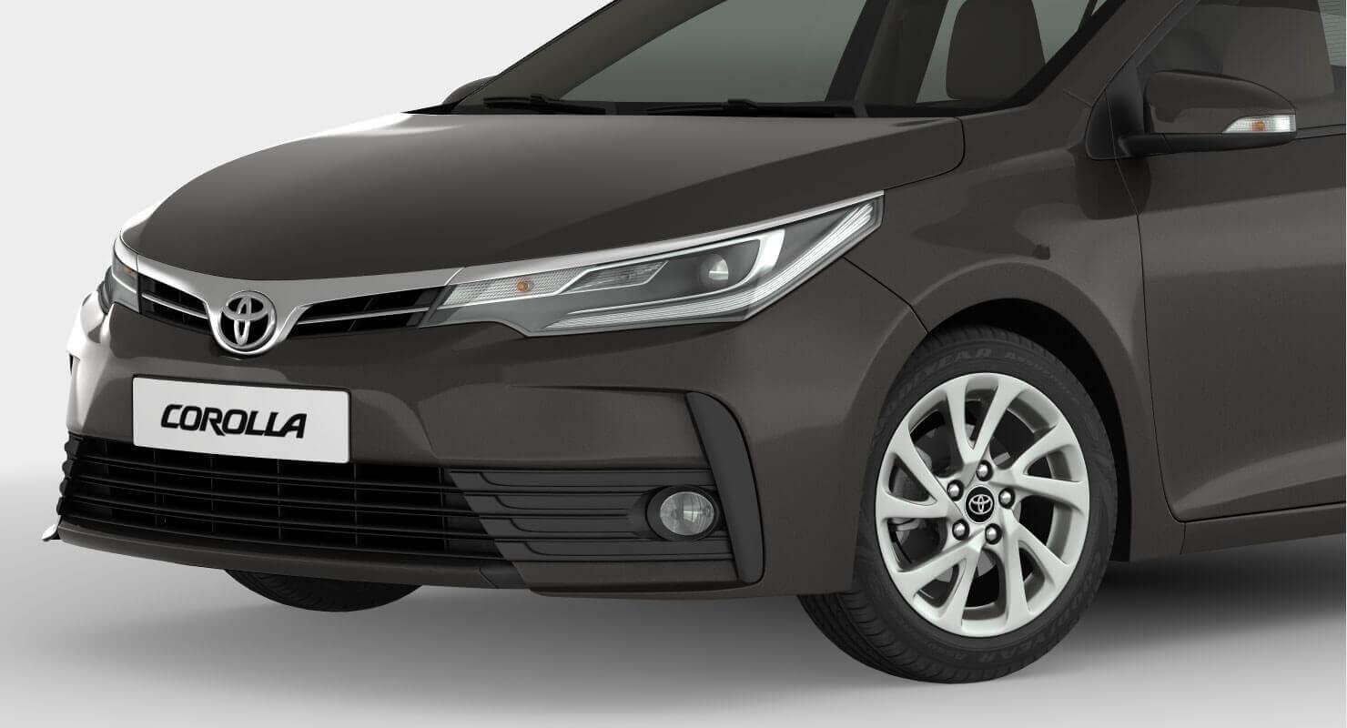 2017 Toyota Corolla 3d Model