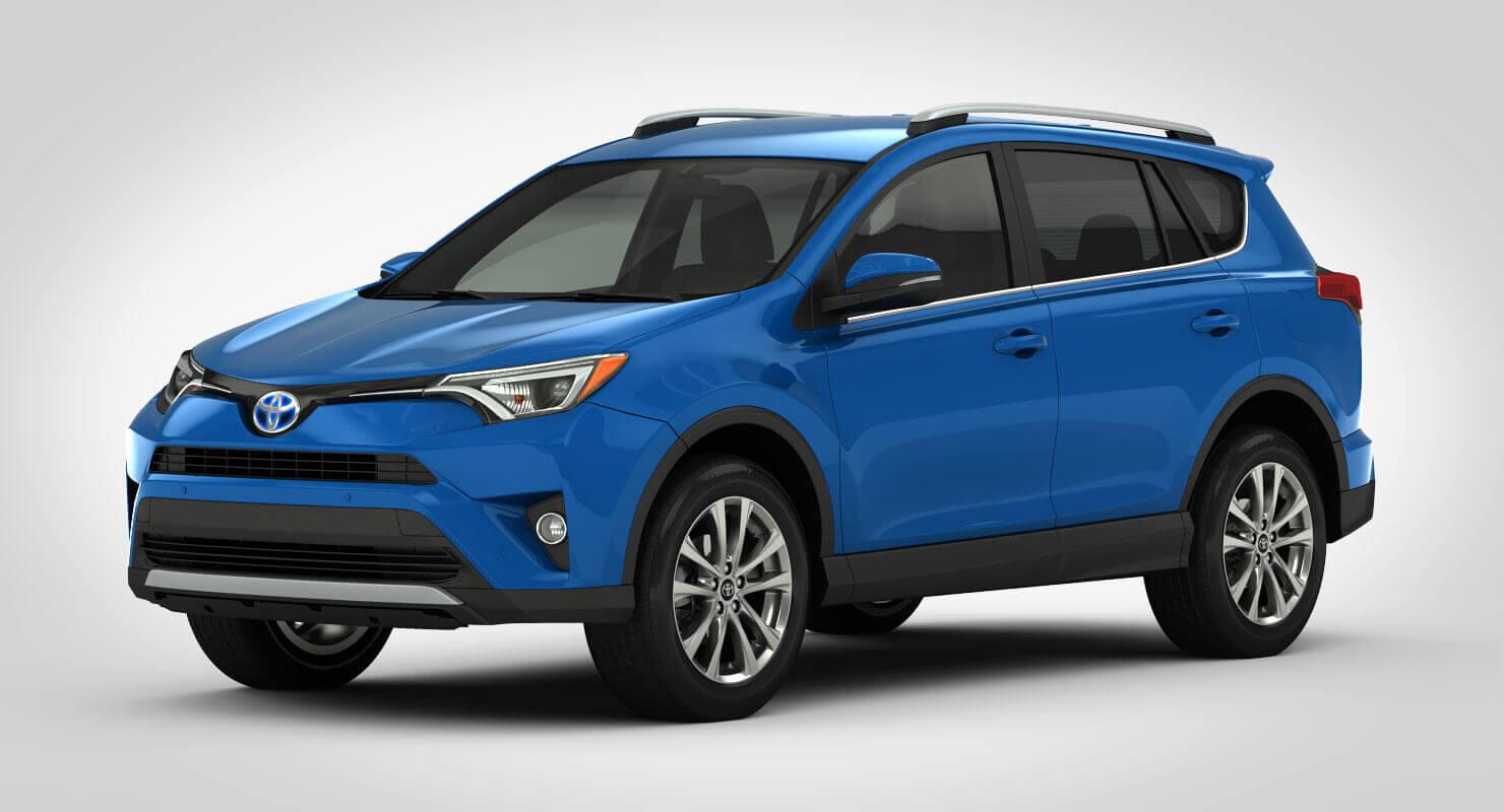 Toyota Rav4 Hybrid Used >> 2017 Toyota RAV4 Hybrid 3D Model