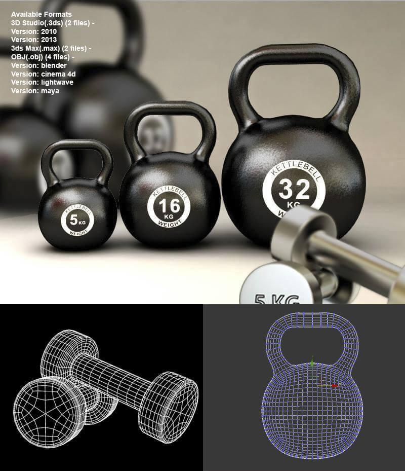 3D Model gym Equipment 3D Rendering   RenderHub Forum