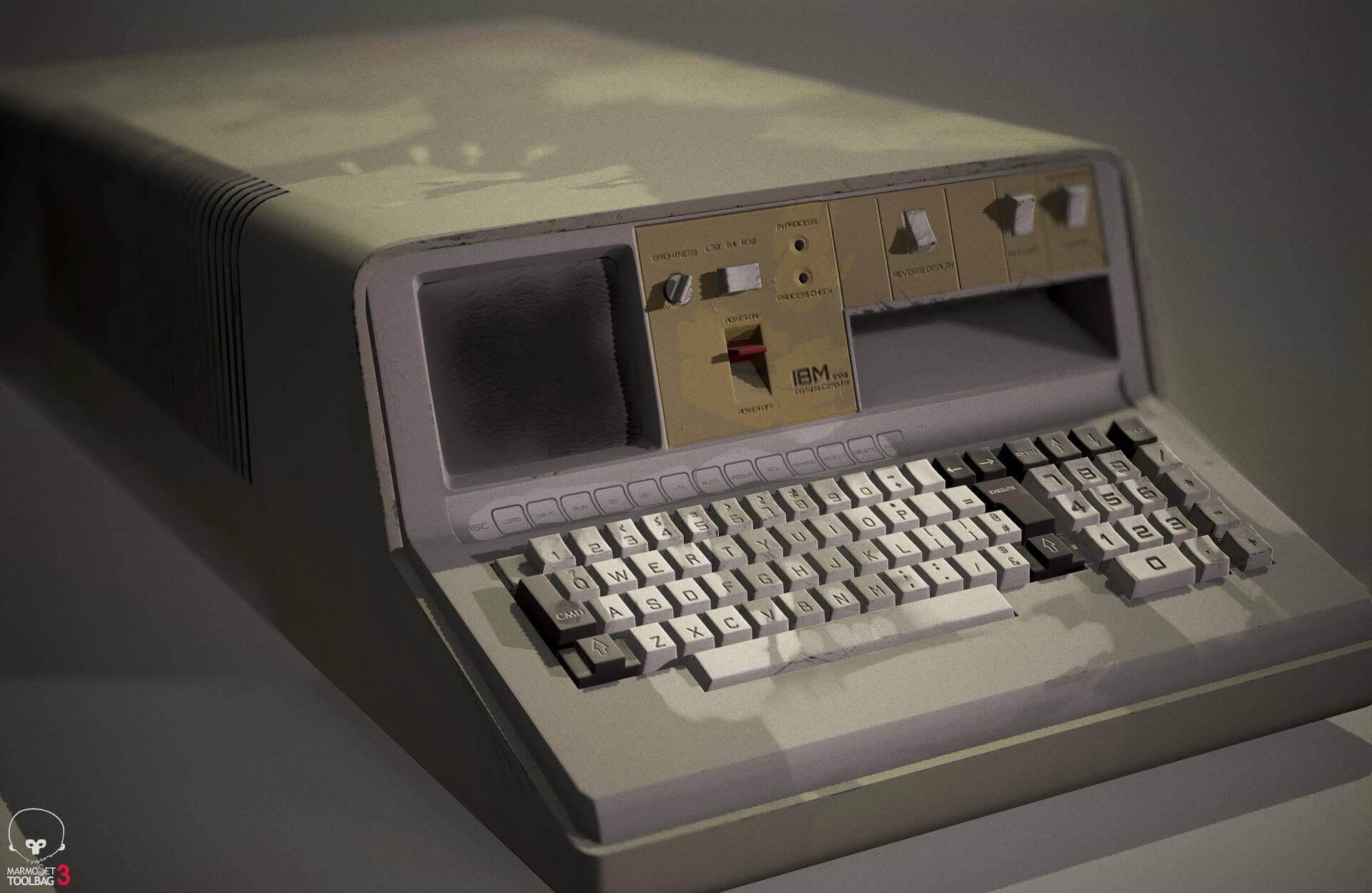 IBM 5100 3D Rendering | RenderHub Forum
