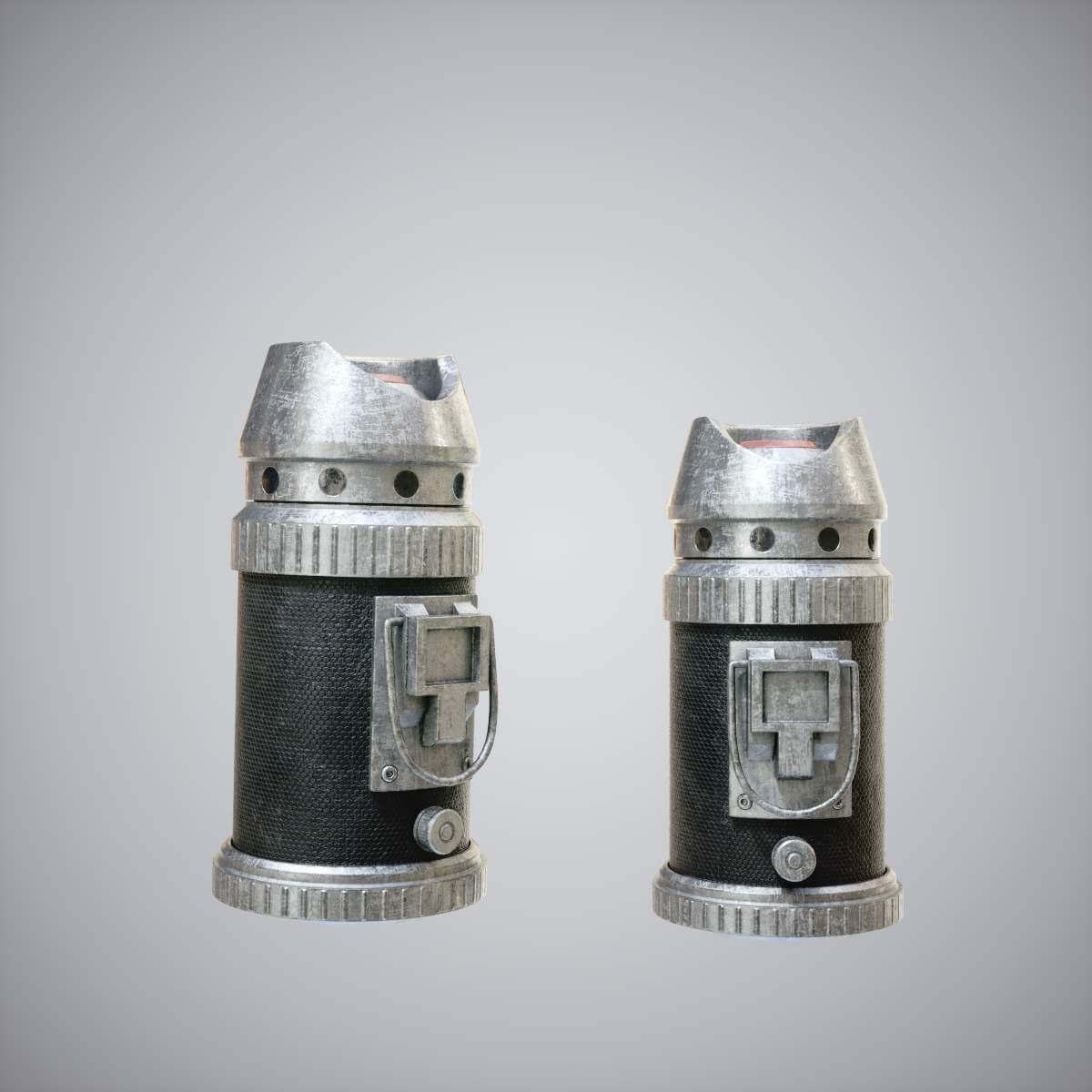 5dcc078716 SWB Grenade 3D Model