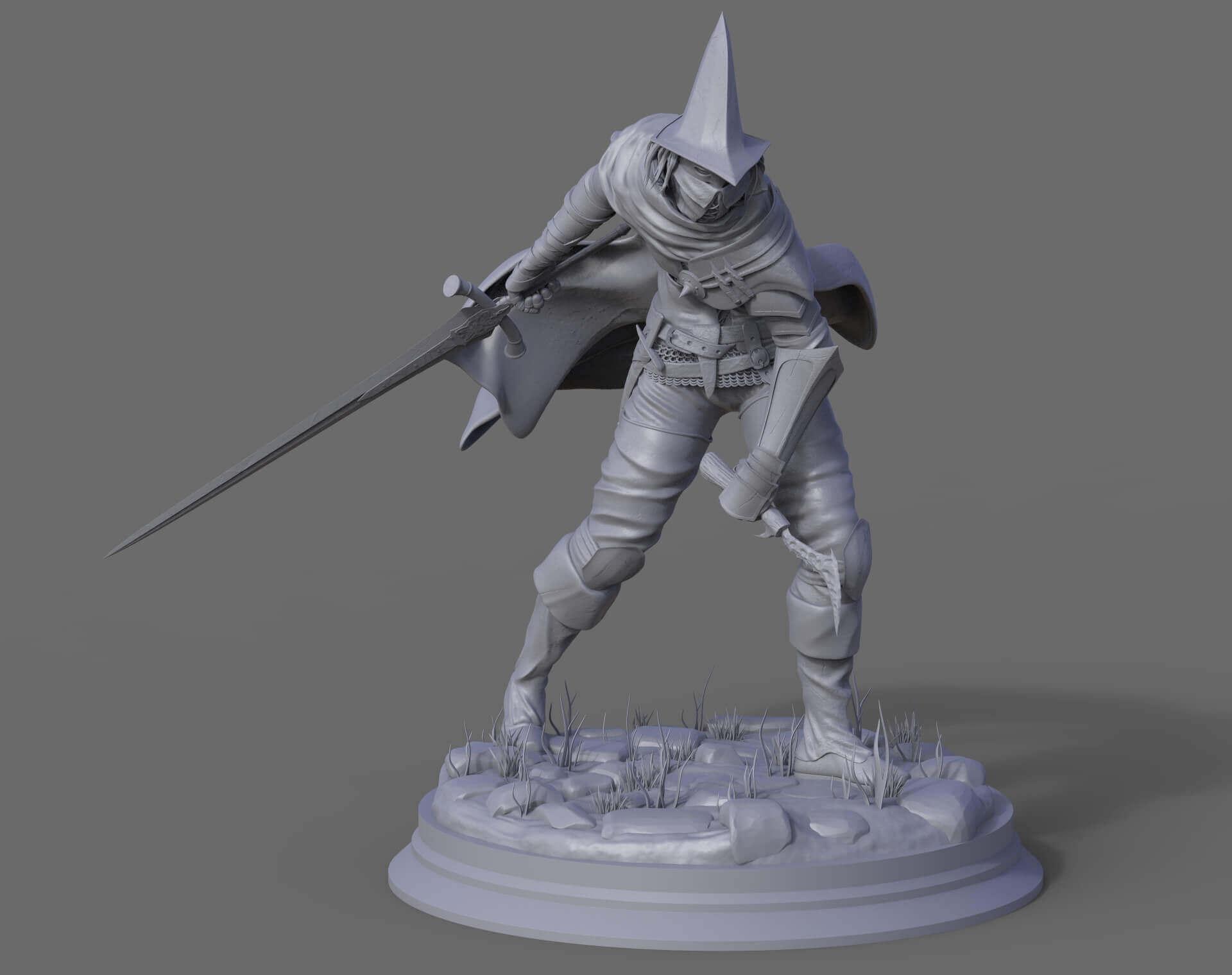 Abyss Watcher Dark Souls 3 Print Ready 3d Model