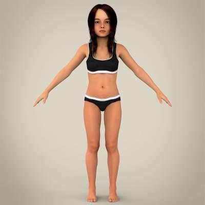 Naked Kids Model