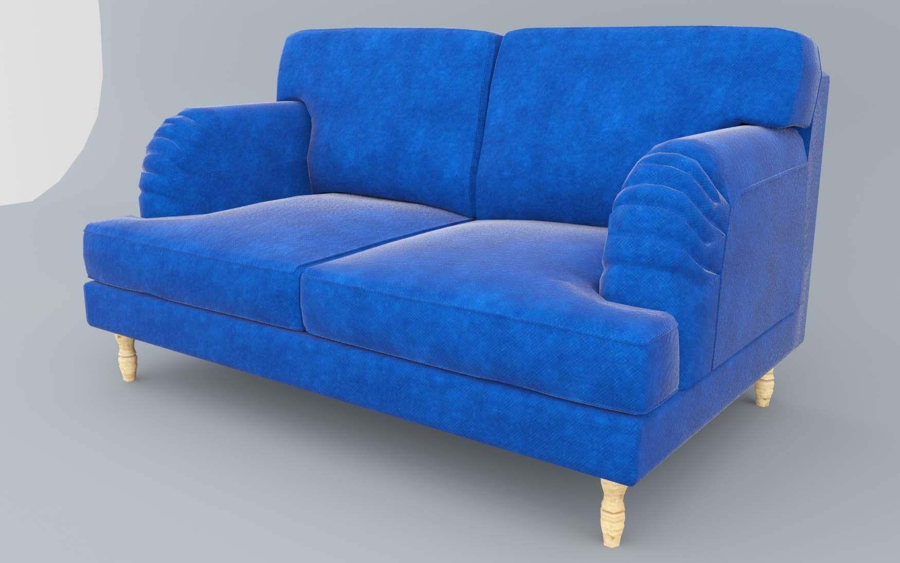 Ikea Socksund Sofa 3d Model
