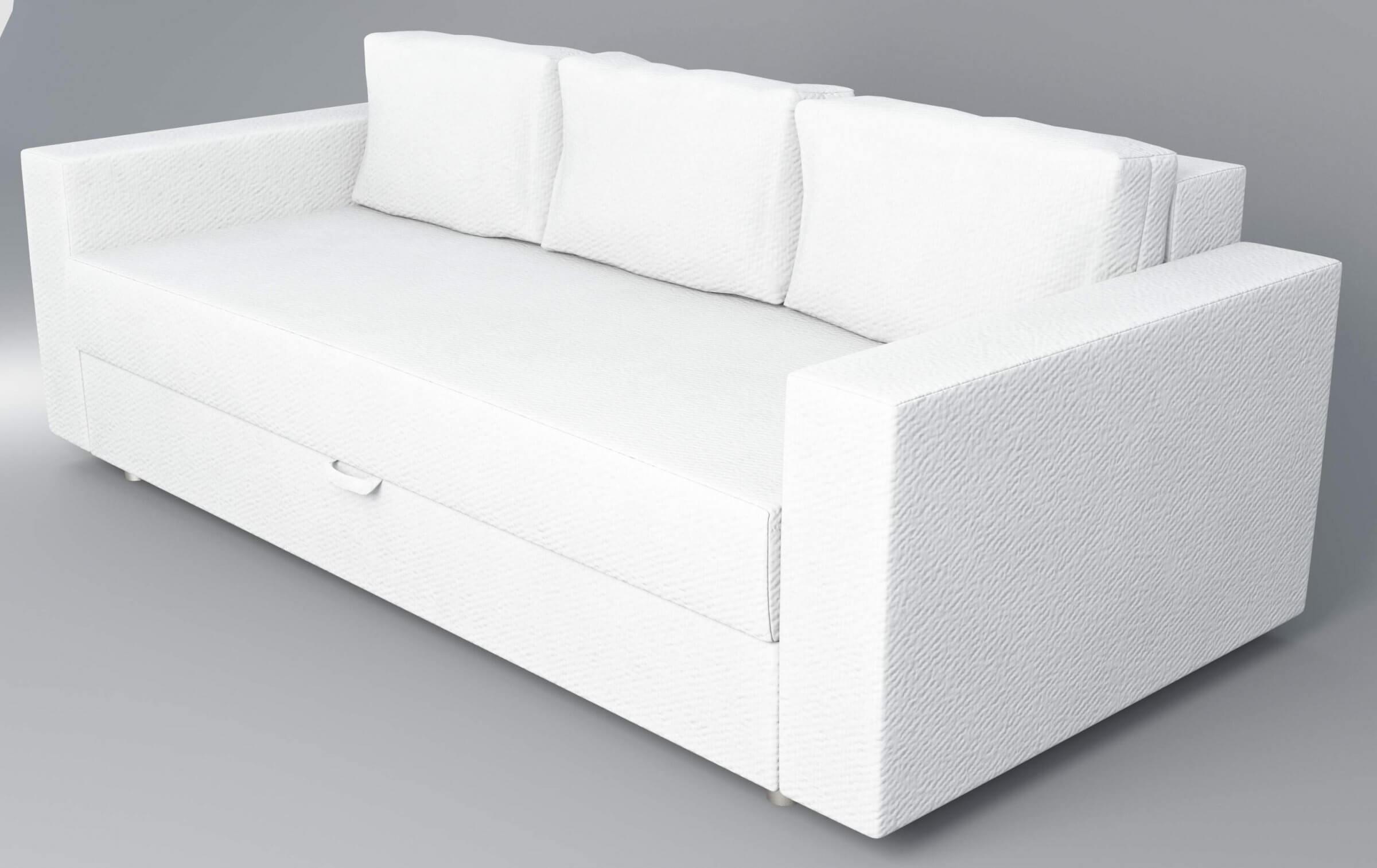 Ikea Friheten Sofa Bed 3d Model