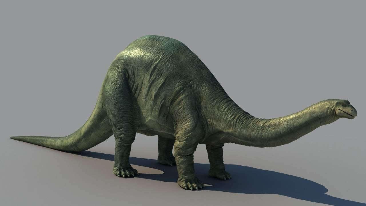 Динозавр бронтозавр картинки