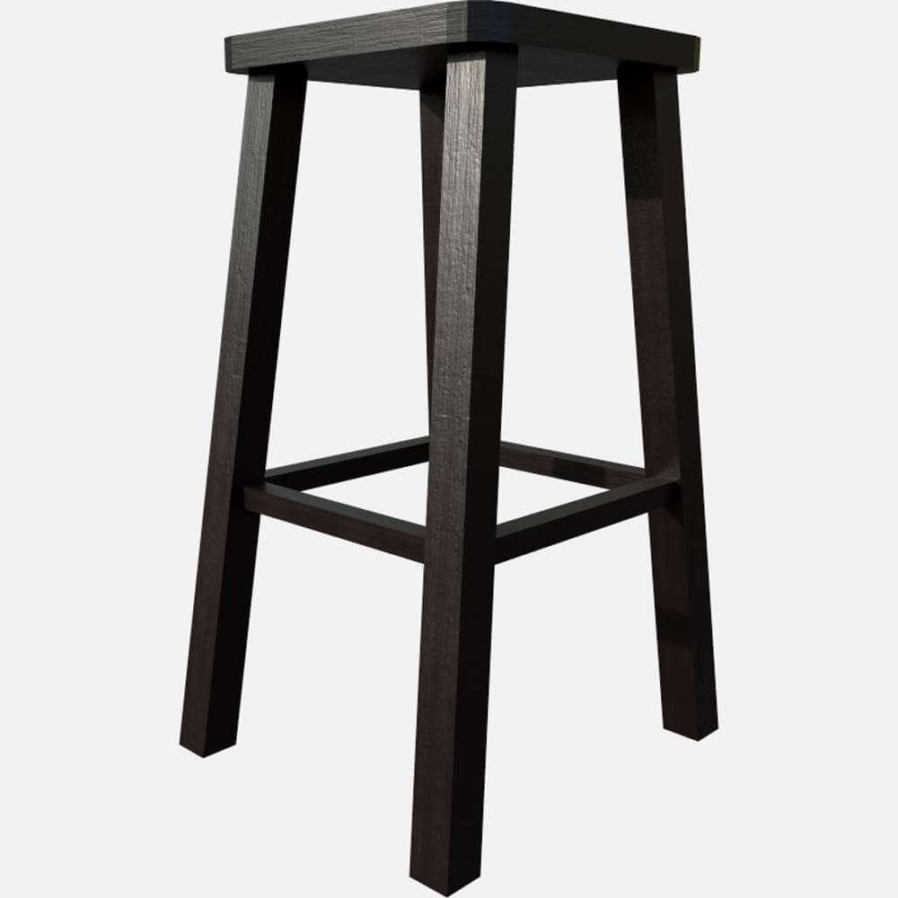 Superb Wooden Stool 3D Model Machost Co Dining Chair Design Ideas Machostcouk