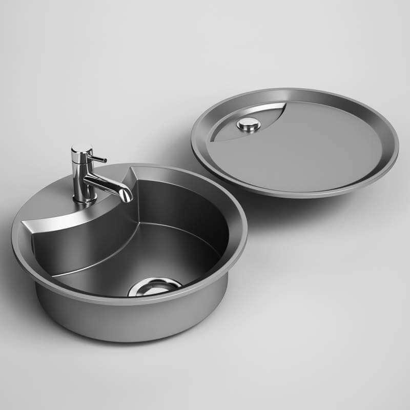 Kitchen Sink Model: Kitchen Sink 22 3D Model