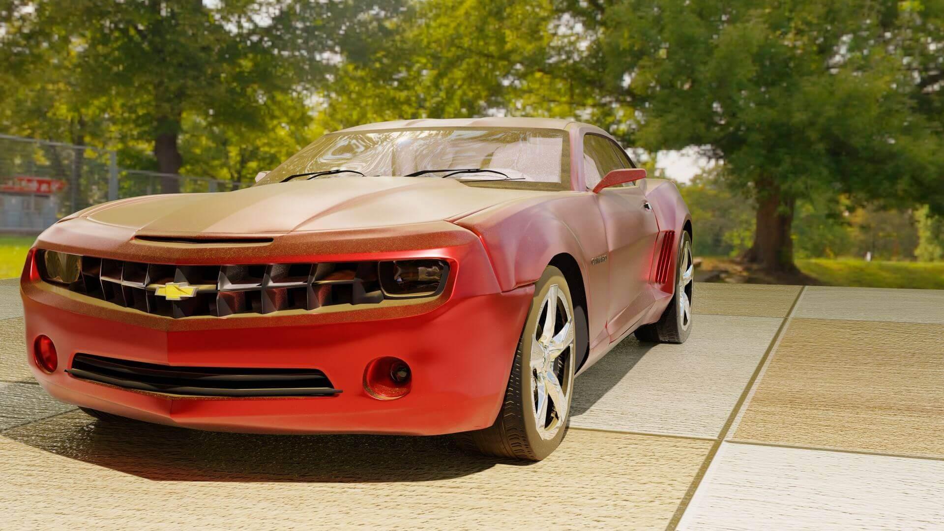 Gen 5 Camaro >> Gen 5 Camaro 3d Model