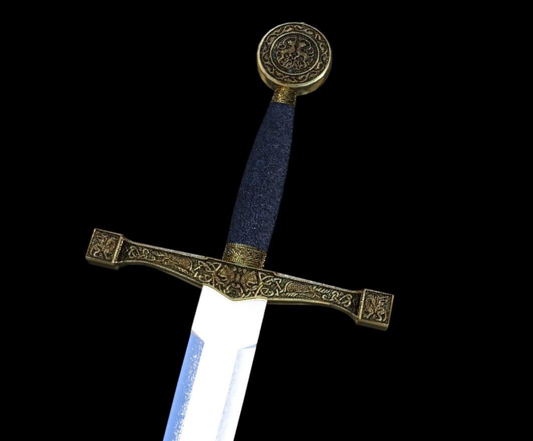 Excalibur Sword Logo