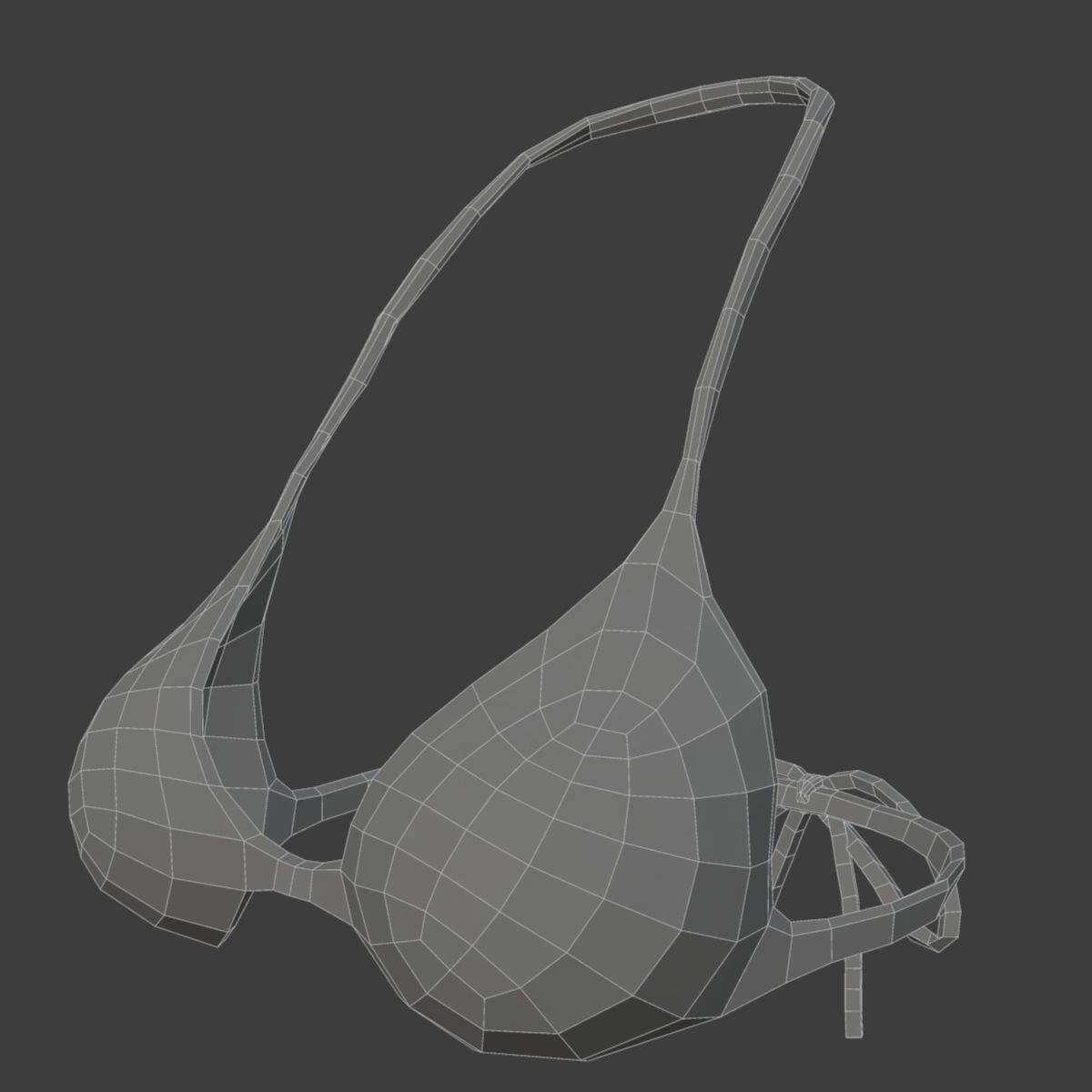 Female with Skeleton Combo 3D Model