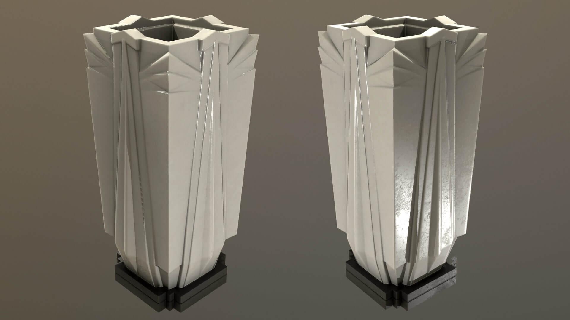 Art Deco Vase 3D Model