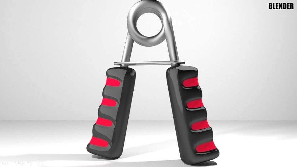 Exercise Equipment - Hand Grip 3D Model