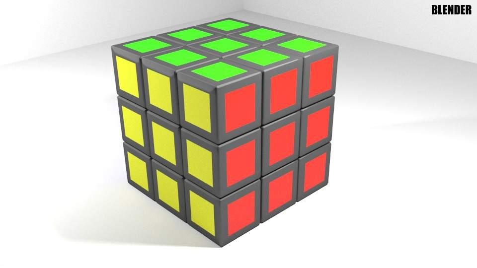 buy best uk cheap sale online retailer Rubiks Cube 3D Model