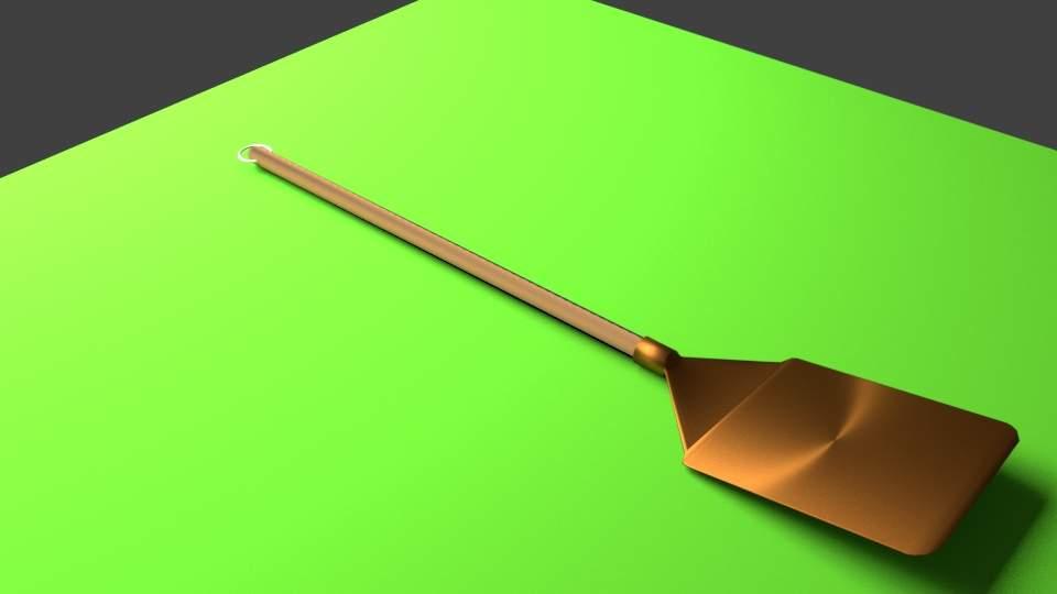 Pizza Shovel 3D Model