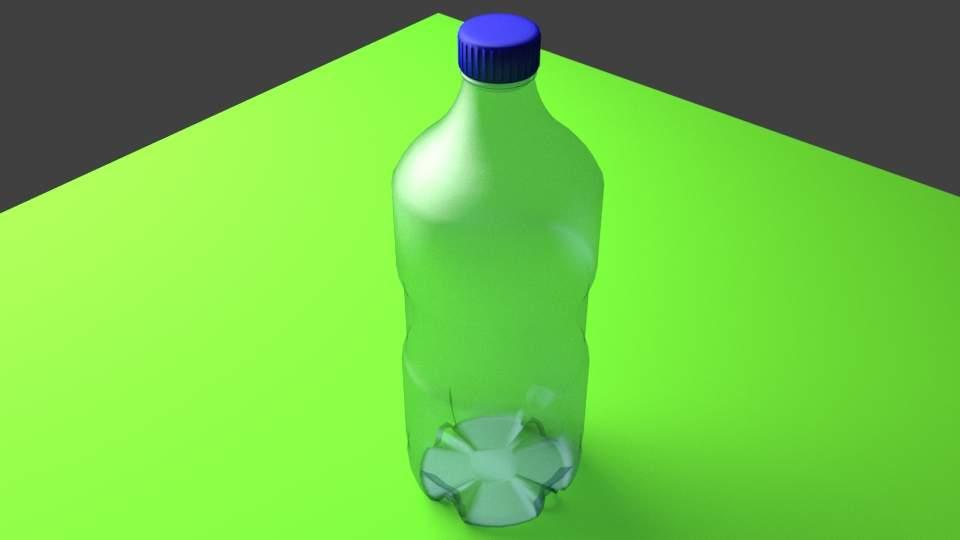 Water Bottle 24 oz 3D Model