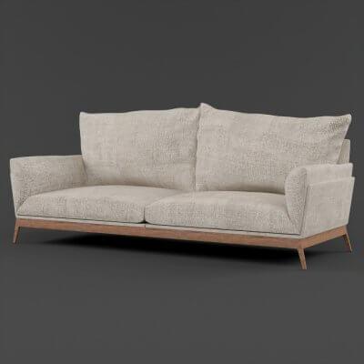 Modern Luxury Sofa V Ray Model