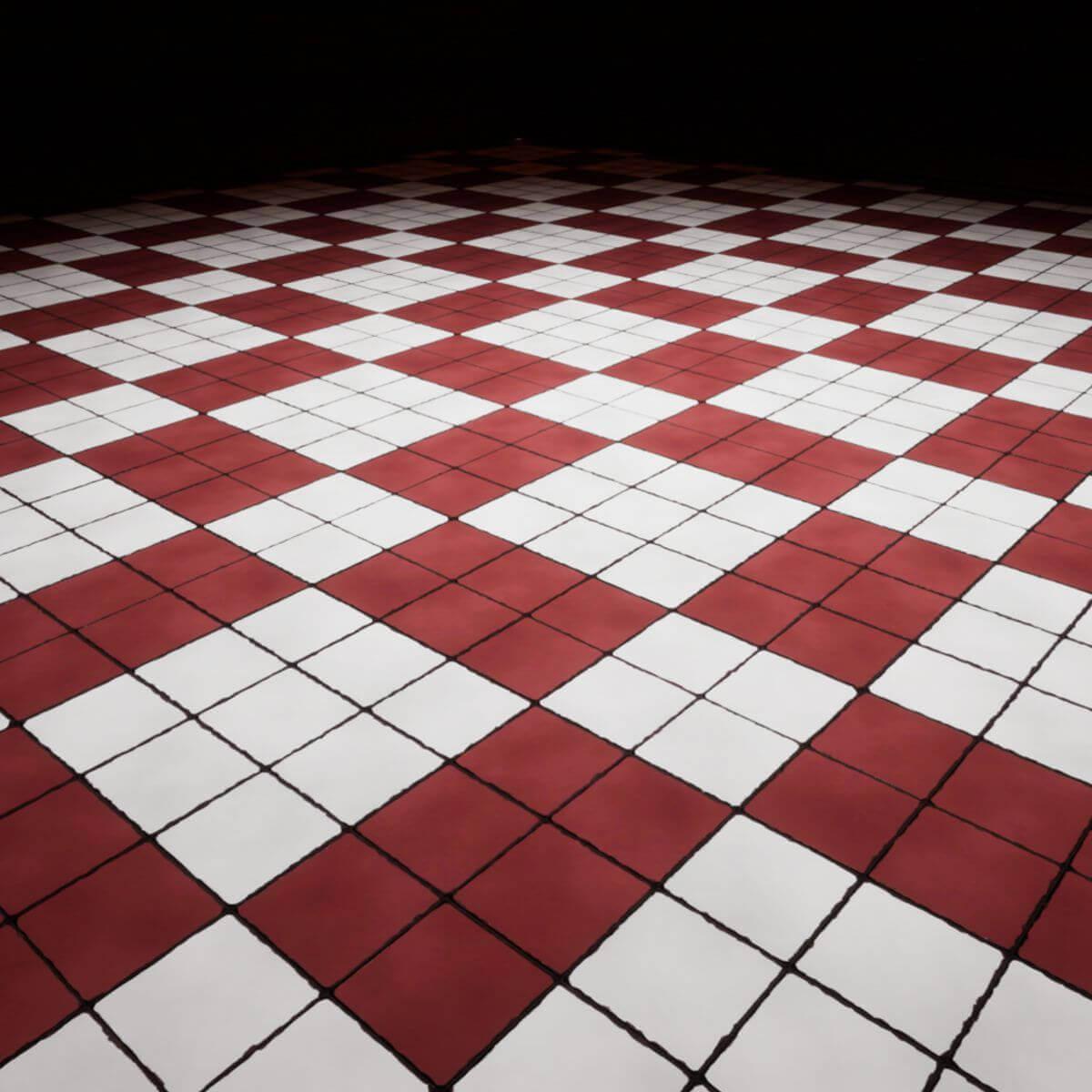 White Tiles Seamless Texture