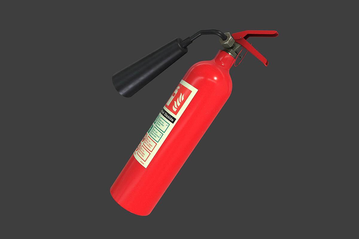 Dildo fire extinguisher