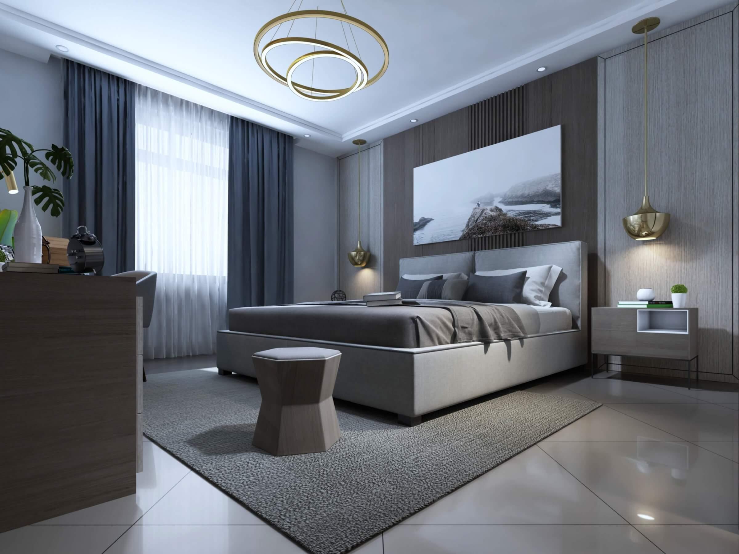 Modern Bedroom Model