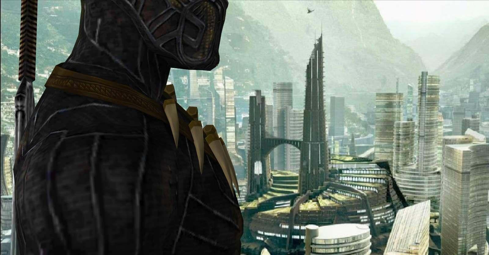 Marvel Killmonger Movie Version Free 3D Model