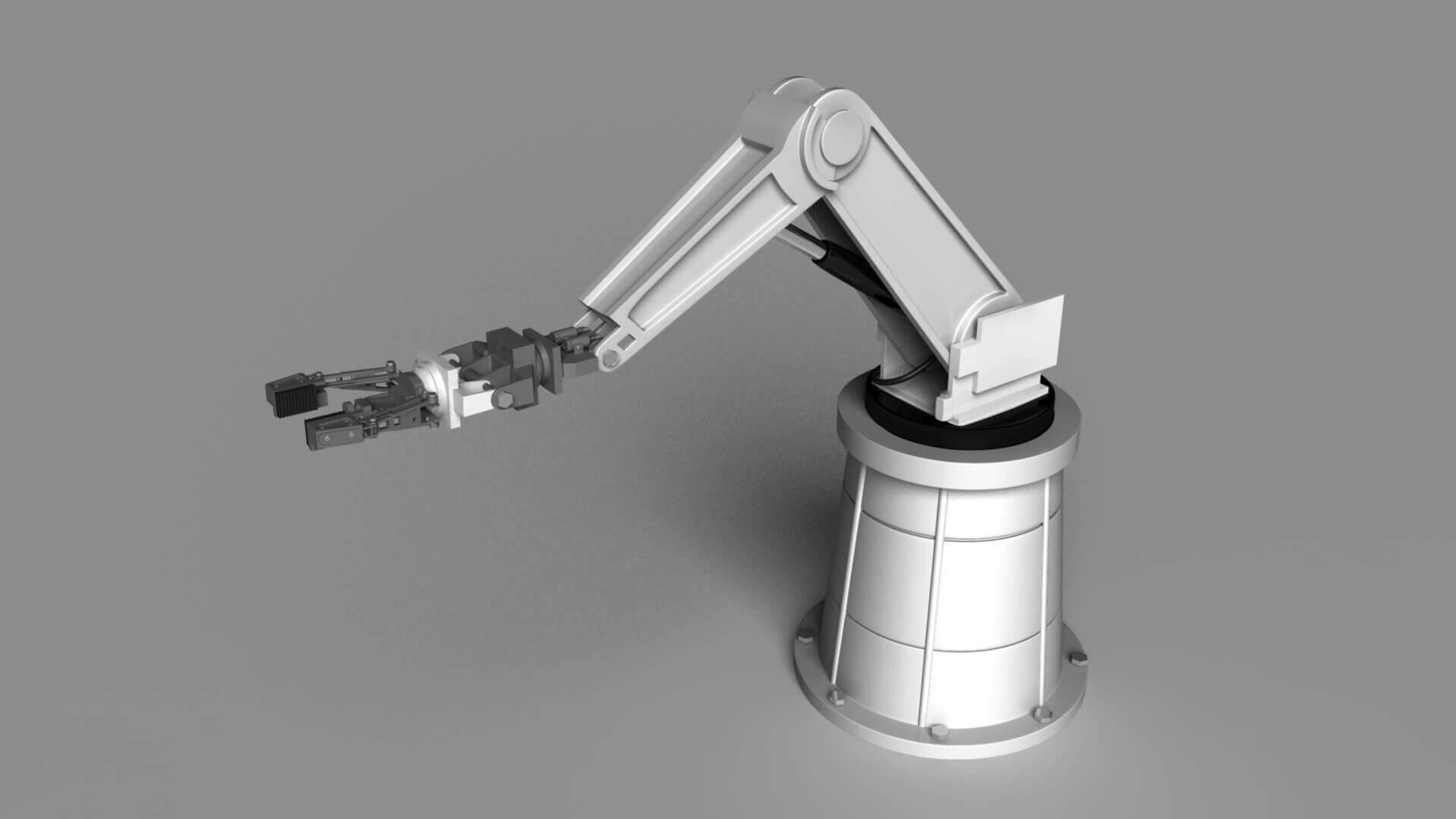 Robot Arm 3d Model Free