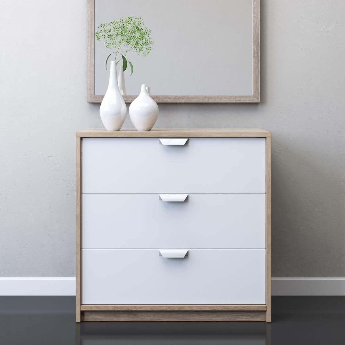 IKEA ASKVOLL 3 Drawer Chest 3D Model