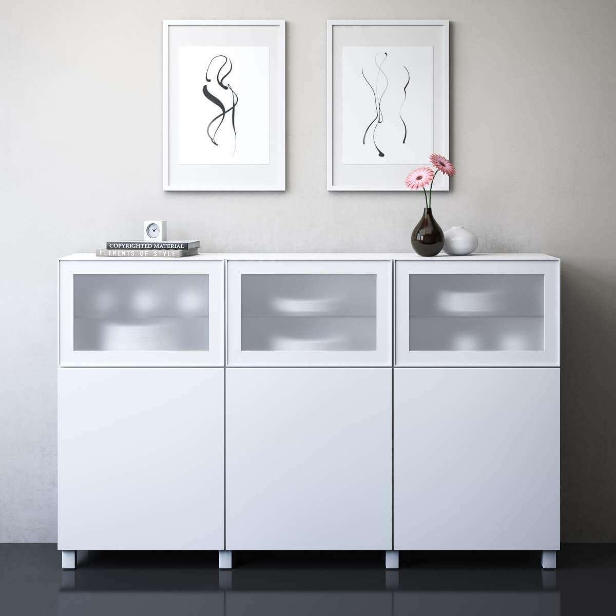 Ikea Besta Storage 3d Model