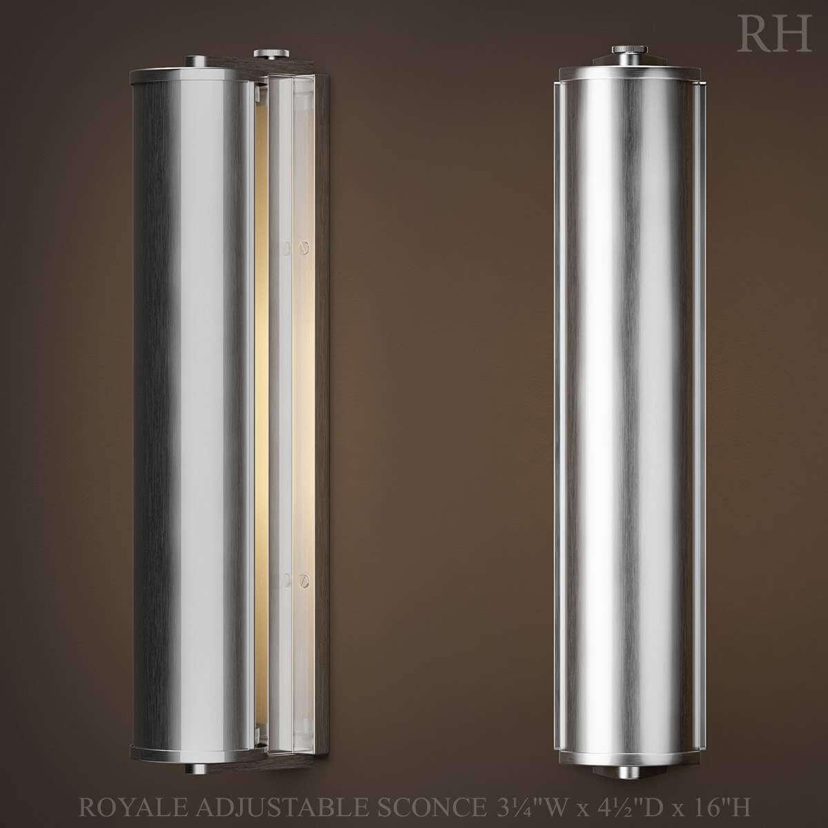 RH Royale Adjustable Sconce 30D Model