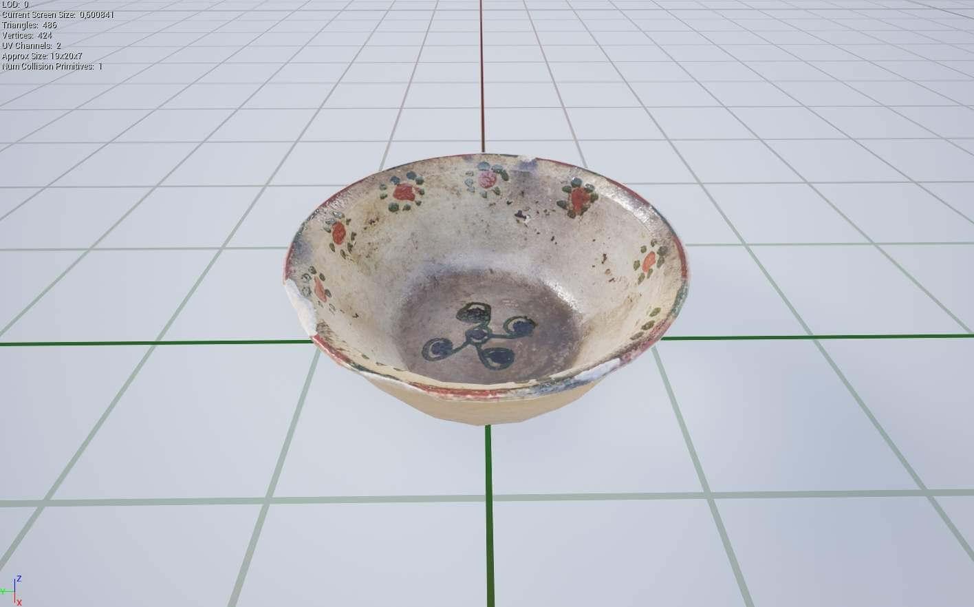 Catawba Bowl 3D Model