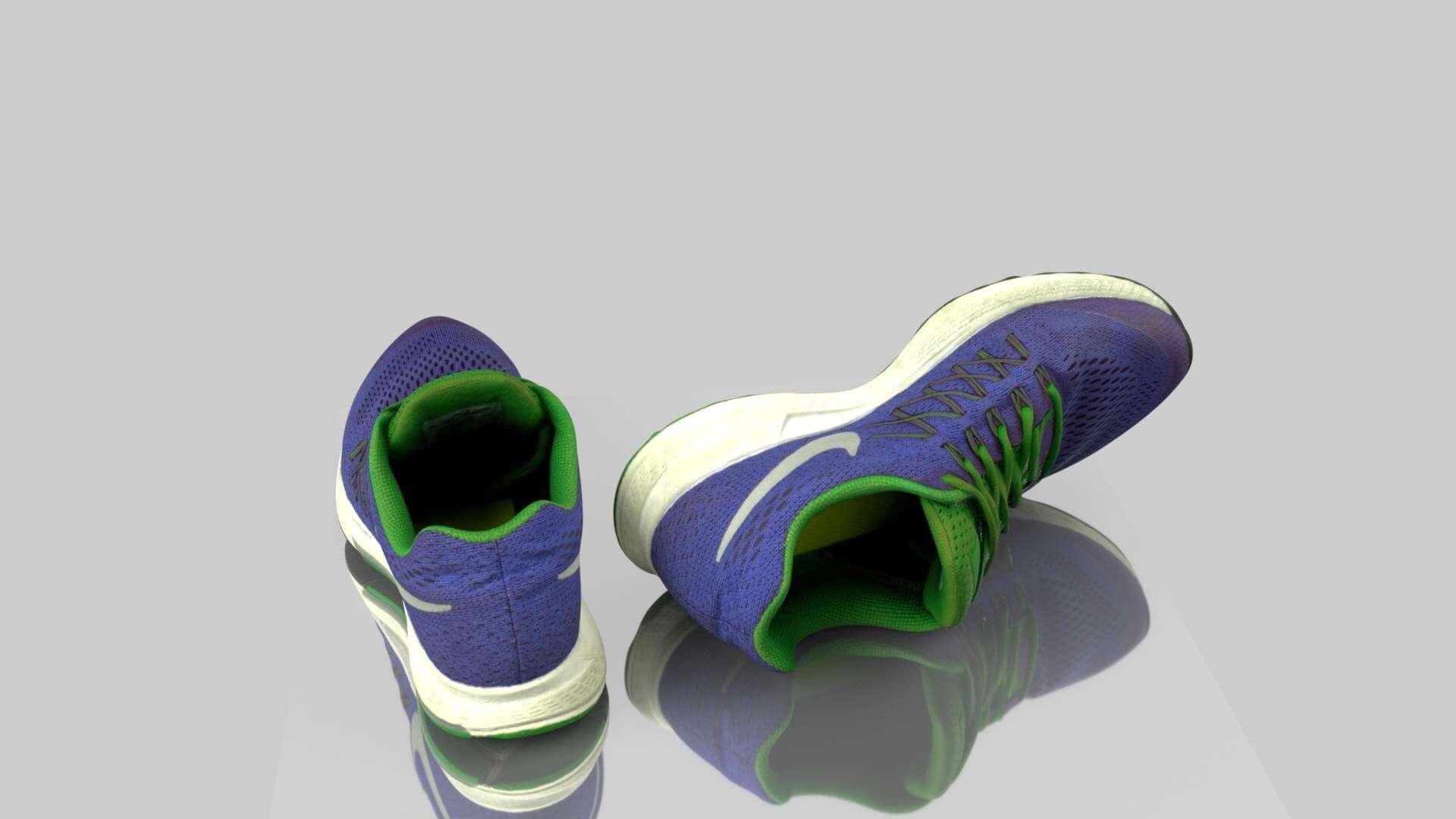 Nike Sneakers 3D Model
