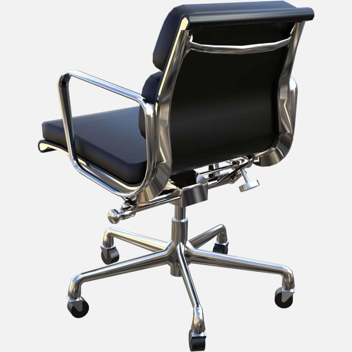 Eames Aluminum Group Soft Pad Management Chair