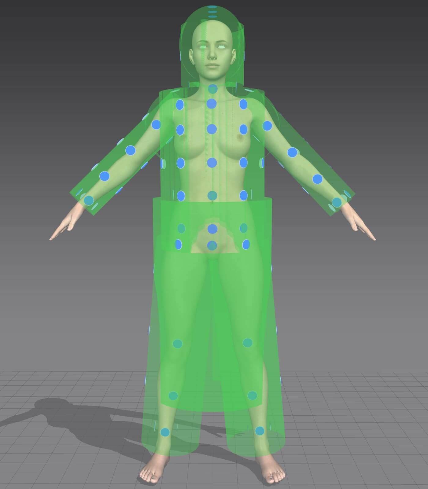 Genesis 8 Female Marvelous Designer Avatar