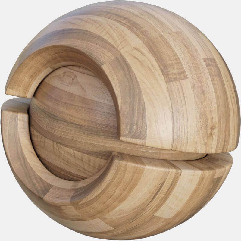 Natural Wood Floor Seamless Texture