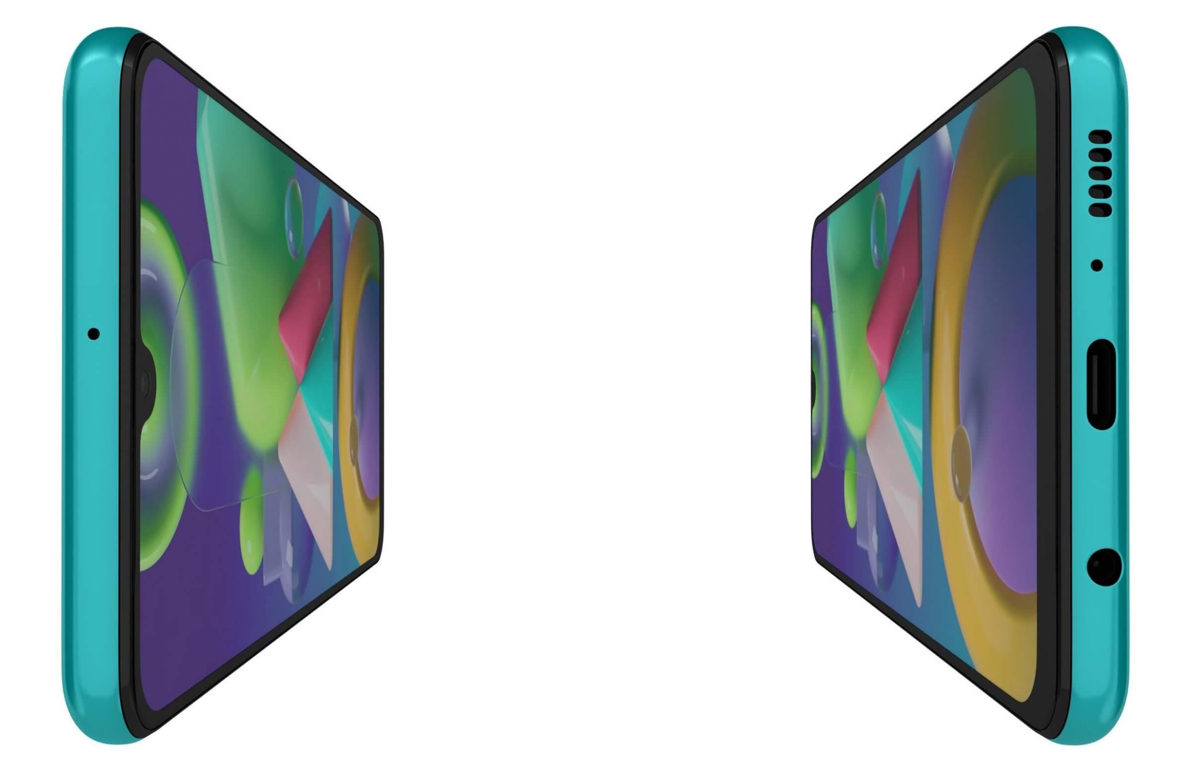 Samsung Galaxy M21 Green 3D Model