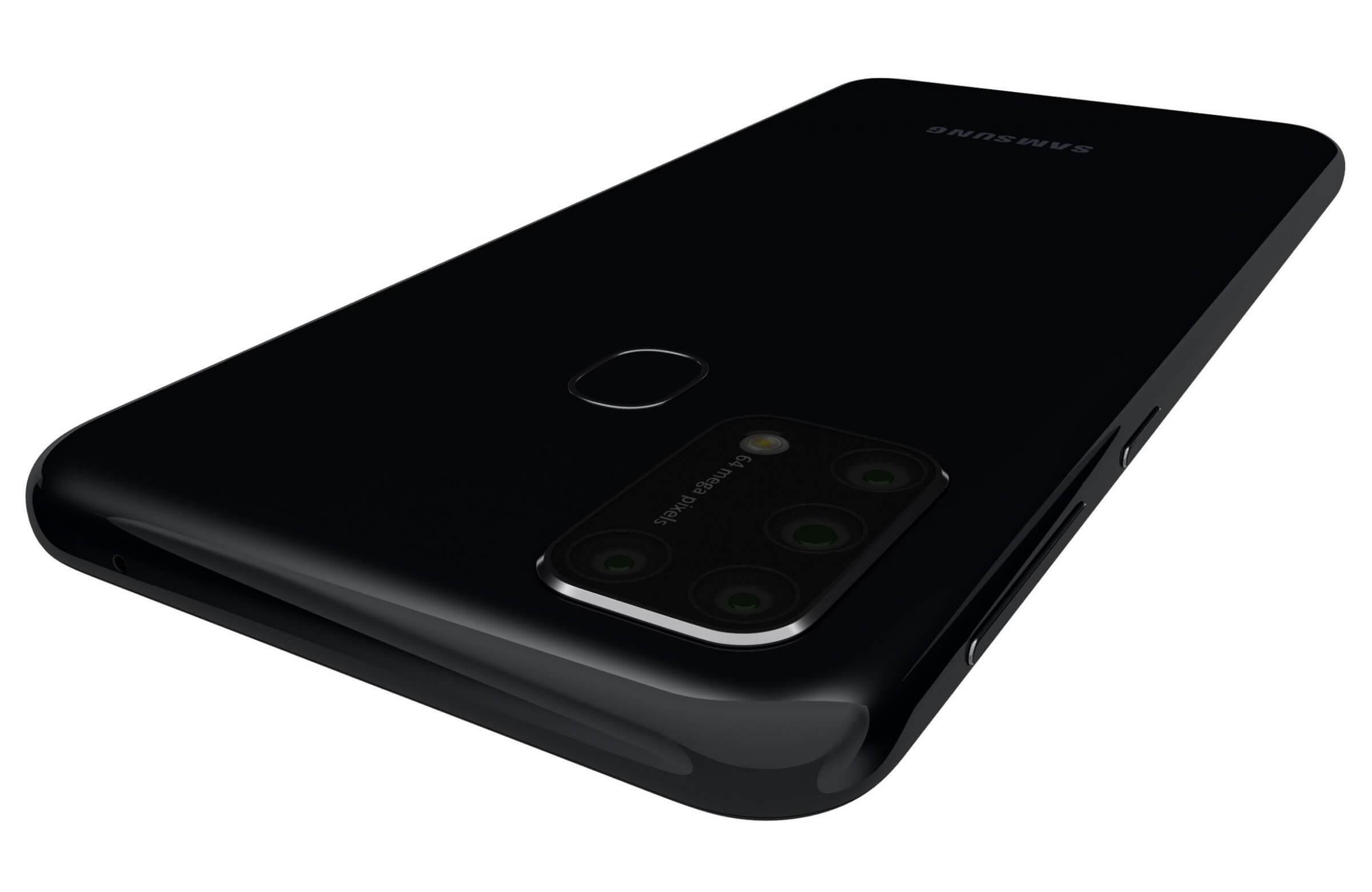 Samsung Galaxy M31 Black 3d Model