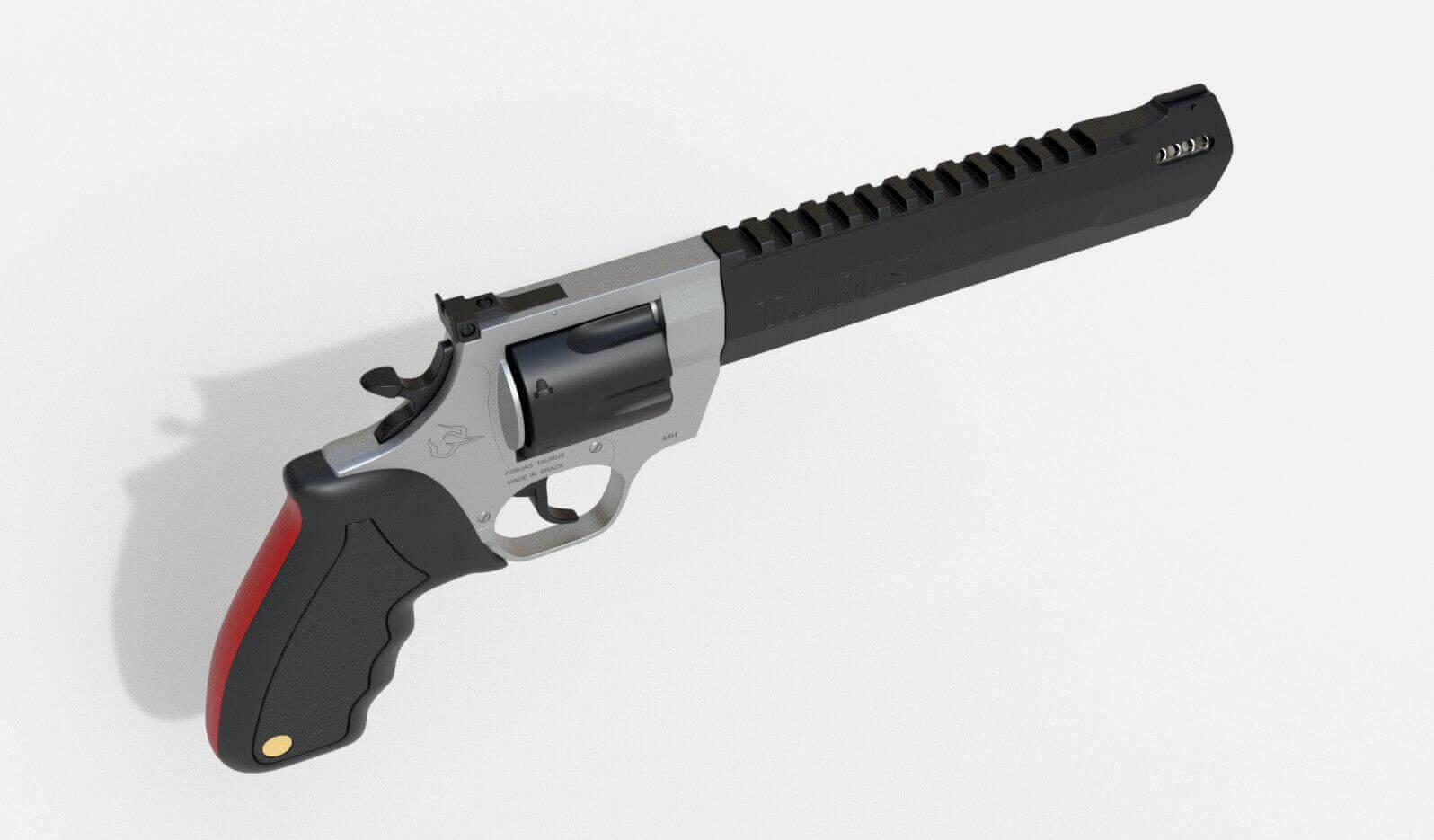 Taurus Raging Hunter 3D Model