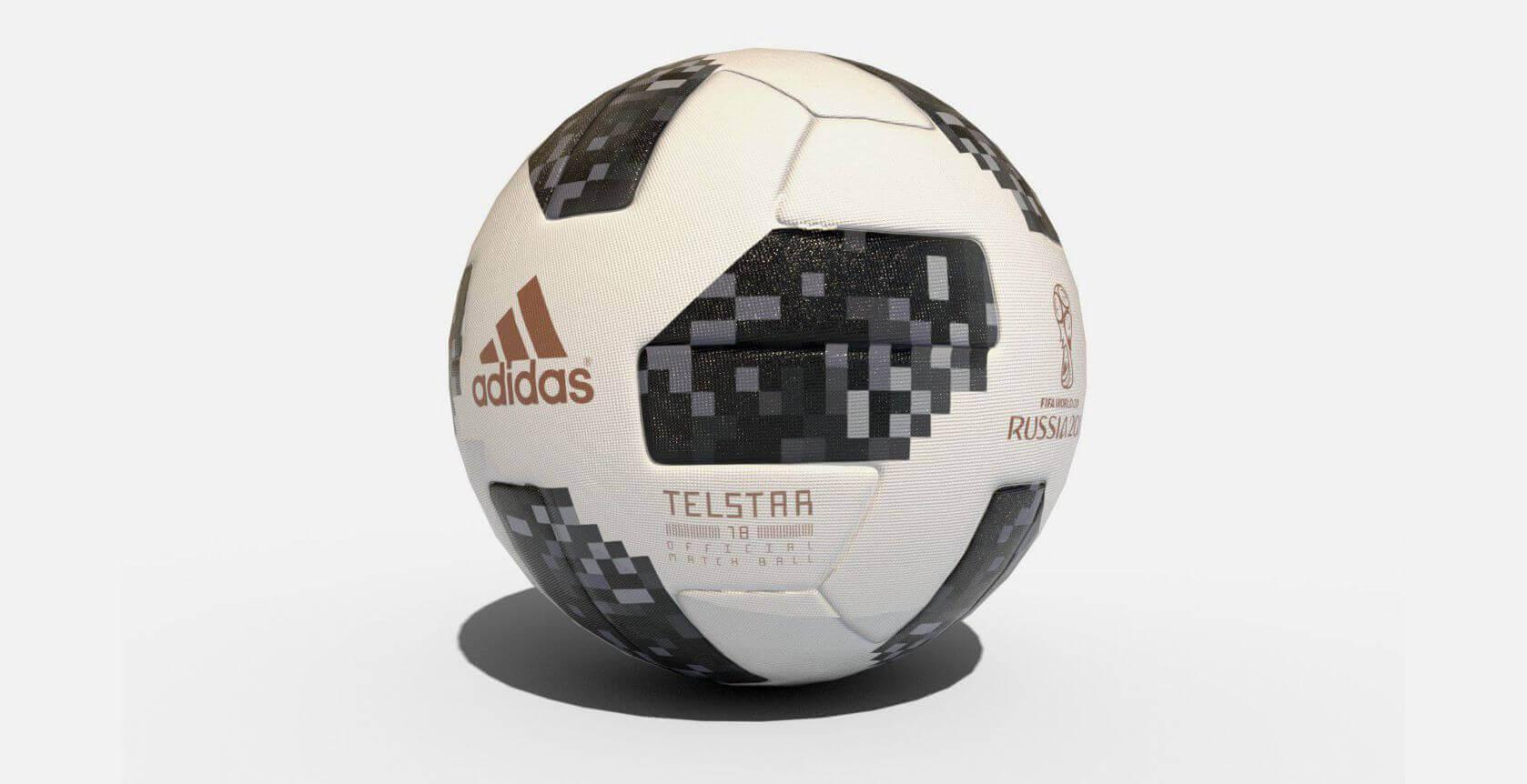 Beautiful Football Ball World Cup 2018 - telstar-2018-world-cup-ball-lowpoly-vr-ar-low-01  Gallery_577751 .jpg