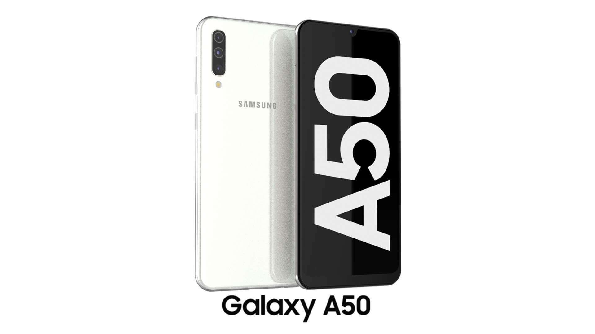 samsung galaxy a50 white 01