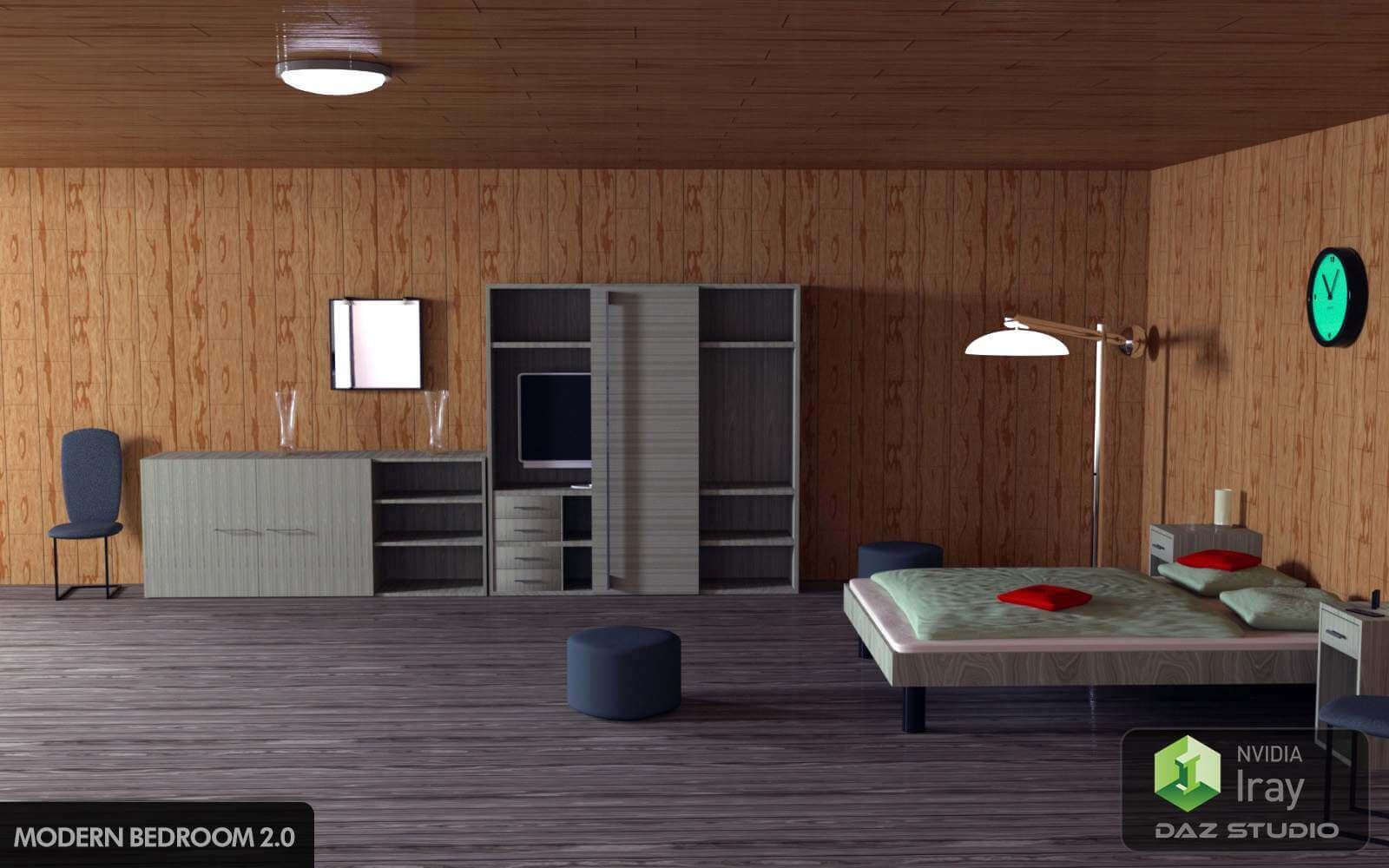 Modern Bedroom 2.0