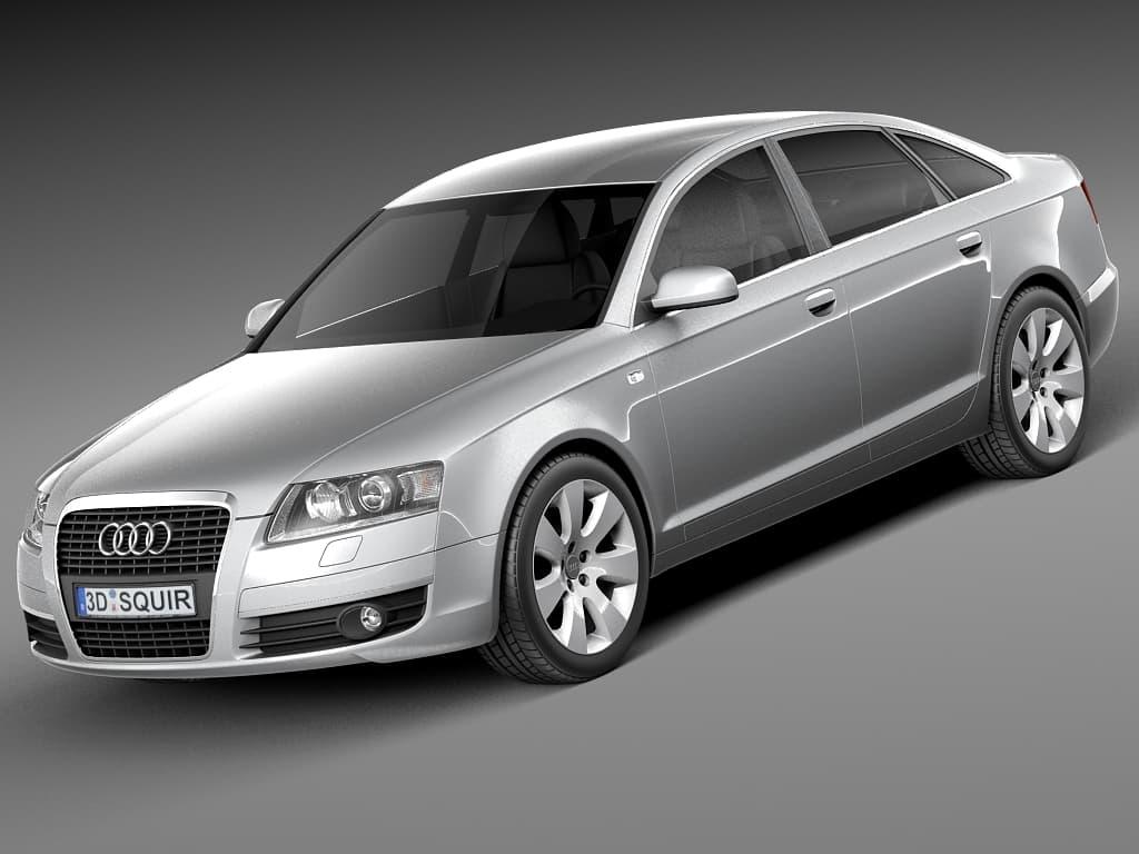 Audi A6 C6 Sedan 2004 2008 3d Model