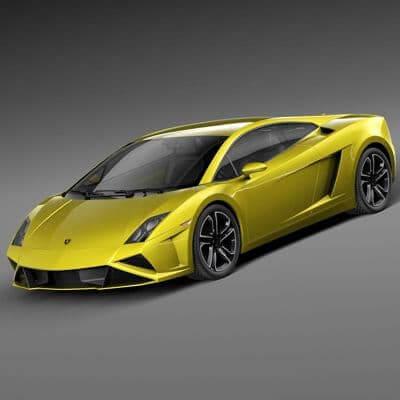Lamborghini Gallardo Lp560 4 2013 3d Model