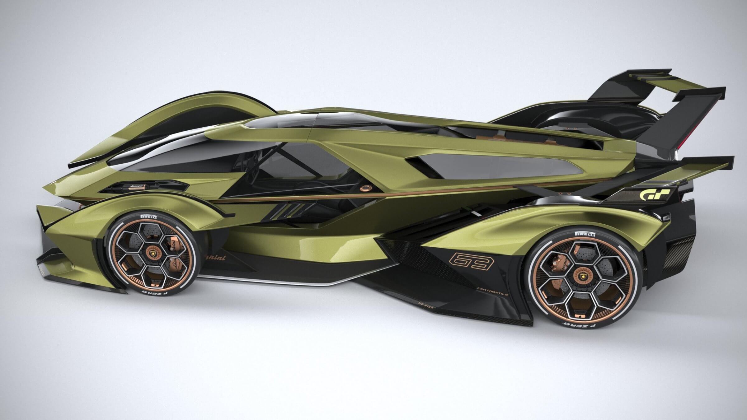 Lamborghini V12 Vision Gran Turismo 3D Model
