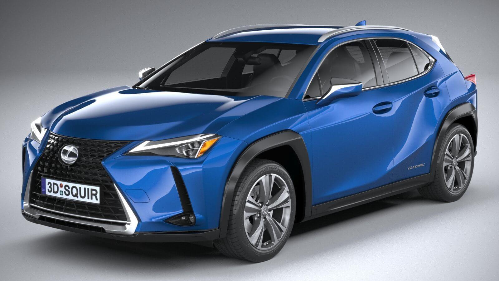 Lexus UX 300e 2021 3D Model