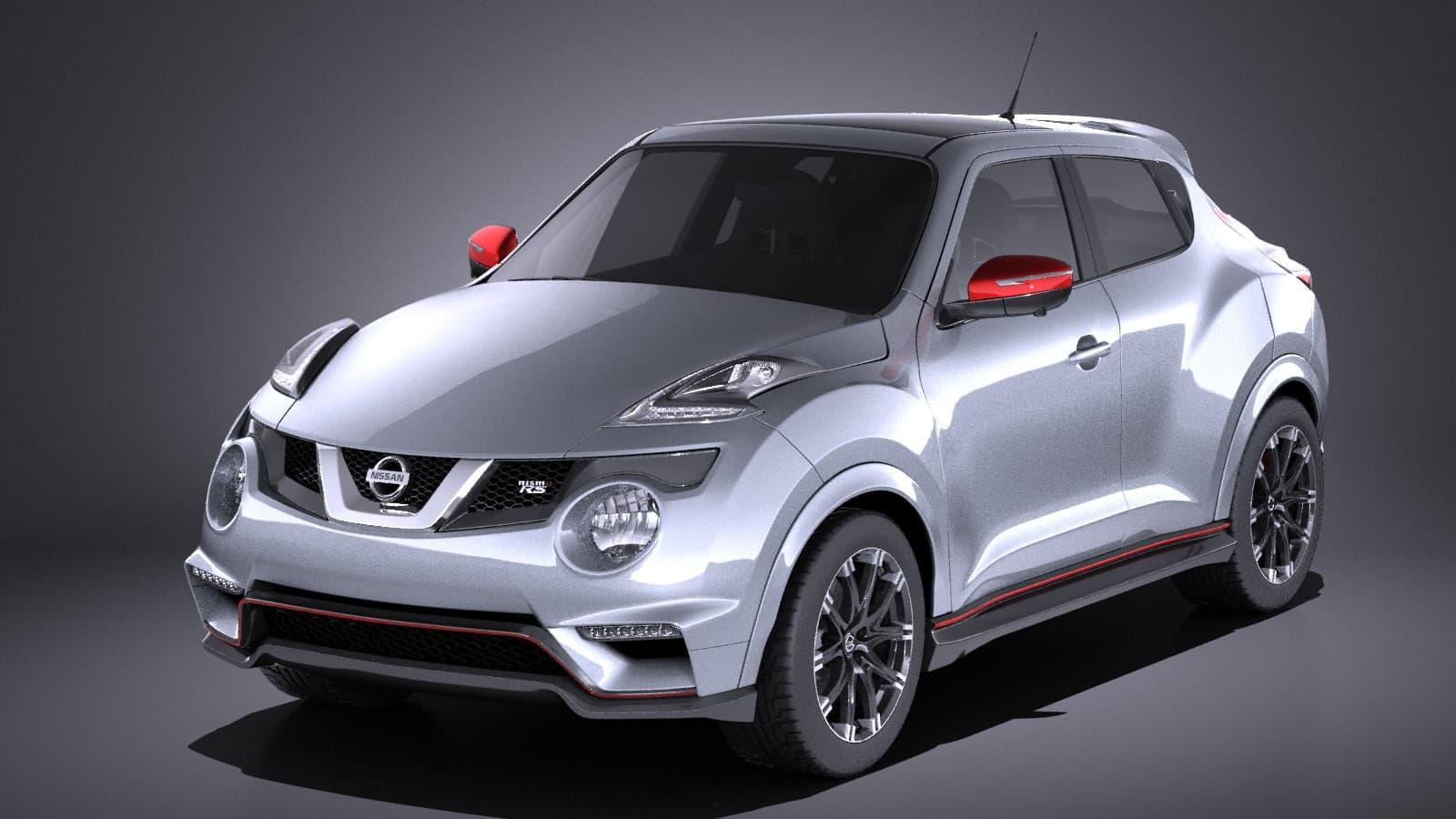 Nissan Juke Nismo Rs >> Nissan Juke Nismo Rs 2017 Vray 3d Model